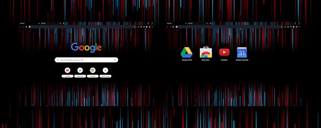 Redline Google Theme  | Chrome Web Store
