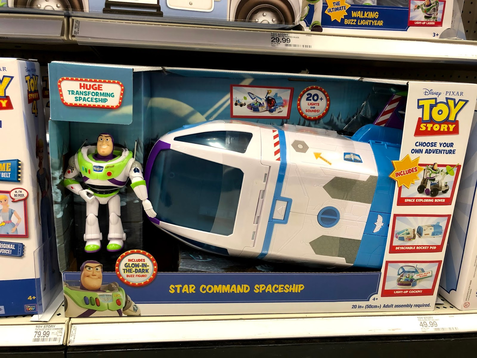 Toy Story Star Command Spaceship playset