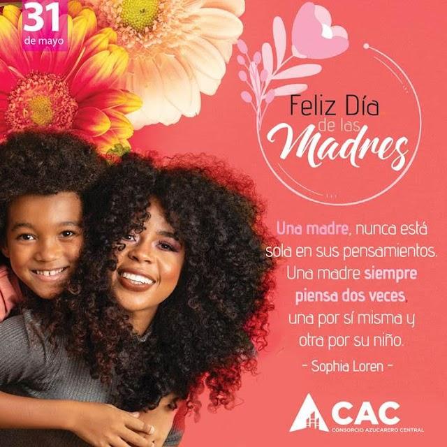 Consorcio Azucarero Central CAC felicita a las madres
