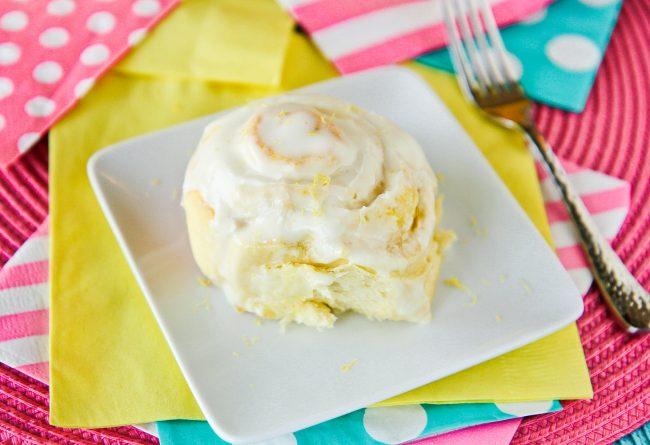 Lemon Rolls #desserts #cinnamon