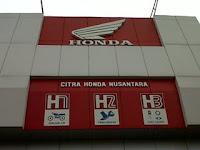 CV. Citra Honda Nusantara April 2017 : Lowongan Kerja Pekanbaru Terbaru