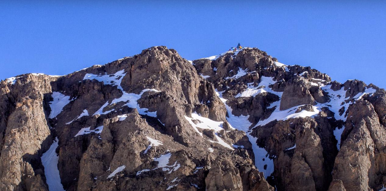 Гора Тубкаль в Марокко