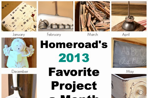Favorite Projects by the Month