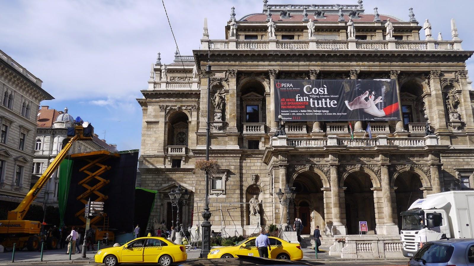 Budapest Hungarian opera house