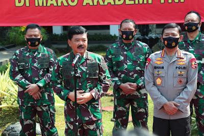 "Panglima TNI : ""TNI-Polri adalah dua institusi besar aset strategis bangsa dan negara Indonesia yang ber-Bhinneka Tunggal Ika"""