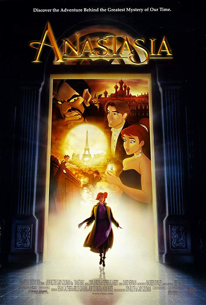 Anastasia 1997 English Movie Bluray 720p With Subtitle