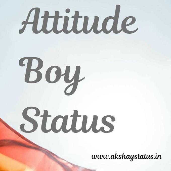 70+ Attitude boy status hindi | देशी छोरा attitude status