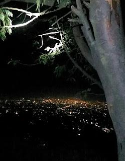Malam Hari Di Pos 3 Merapi Via Sapuangin