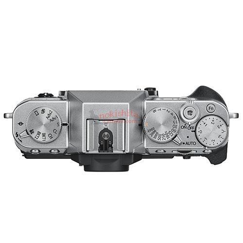 Fujifilm X-T30, вид сверху