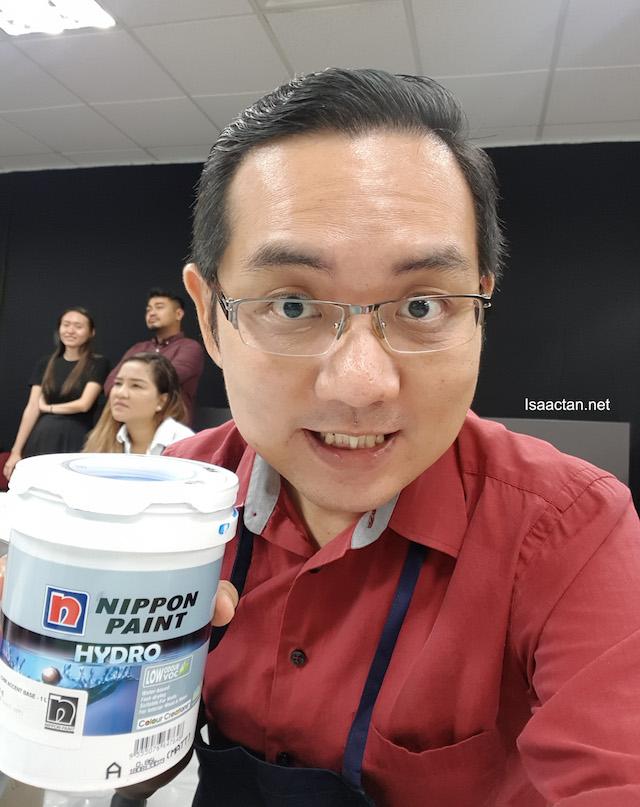 Nippon Hydro-Matt Paint was Used