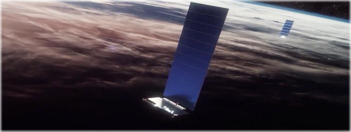 darksat starlink - nova frota de satélites starlink lançada