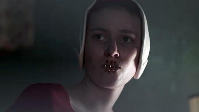 el cuento de la criada temporada 3 reseña. Criadas con las bocas selledas