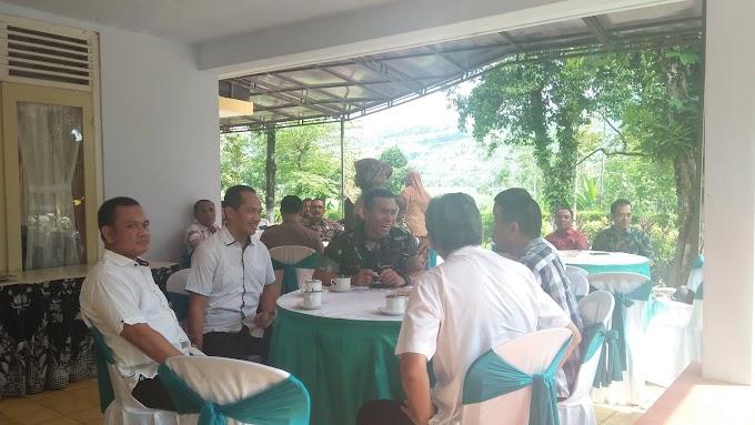 Dandim 0824 Jember Bersama Manager PTP Mantapkan Sinergitas