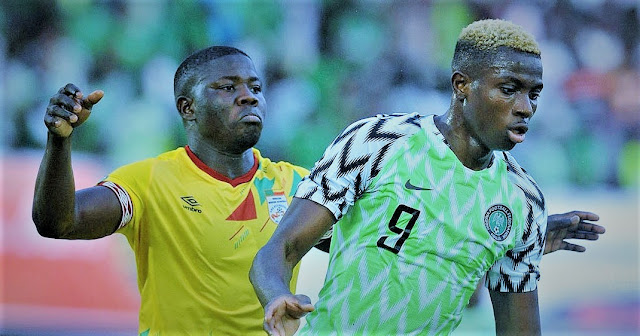 Sports: Nigeria Super Eagles Trashes Benin