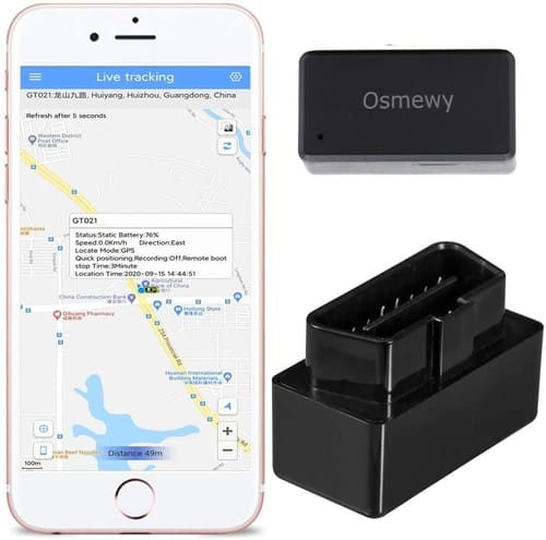 Review Osmewy OBD Car GPS Tracker for Vehicle