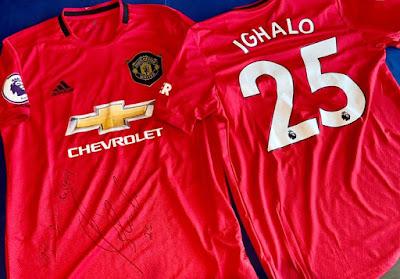 EbwtlirWoAAN26V - Ighalo sends autographed Man Utd jersey to DJ Cuppy