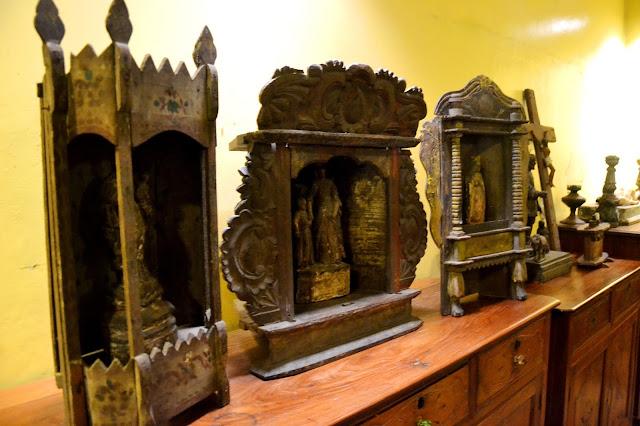Antique saints