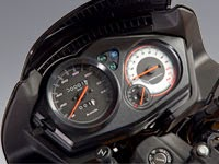 Honda CBF125: tablero de instrumentos