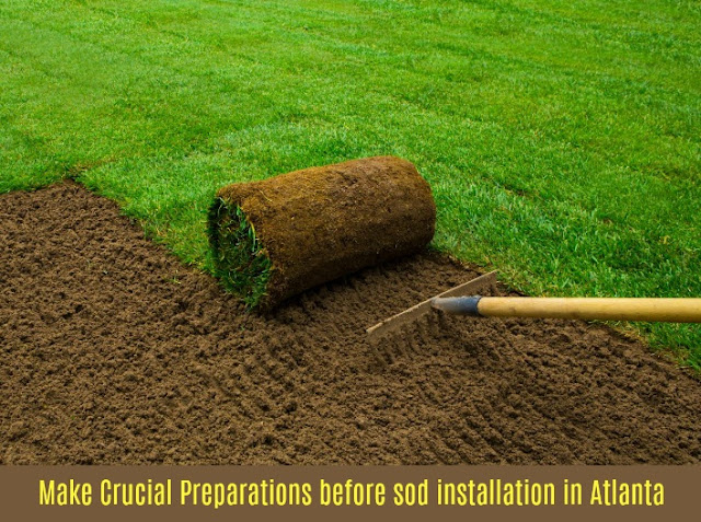 Make Crucial Preparations Before Sod Installation in Atlanta