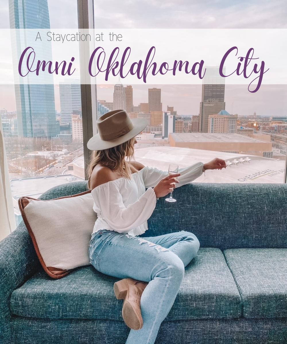 OKC lifestyle blogger @amandasOK does a Staycation at the Omni Oklahoma City