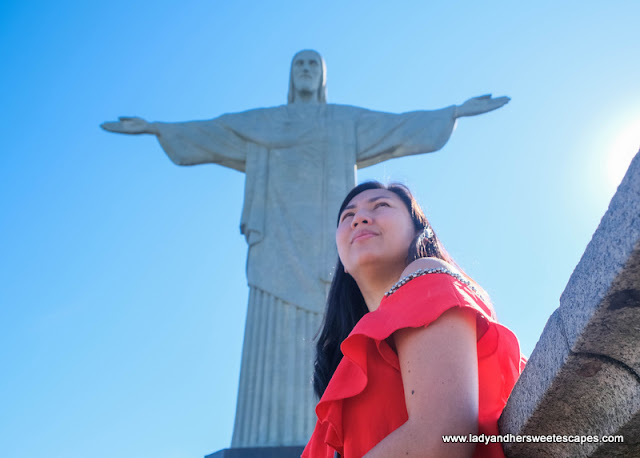 Lady in Christ the Redeemer