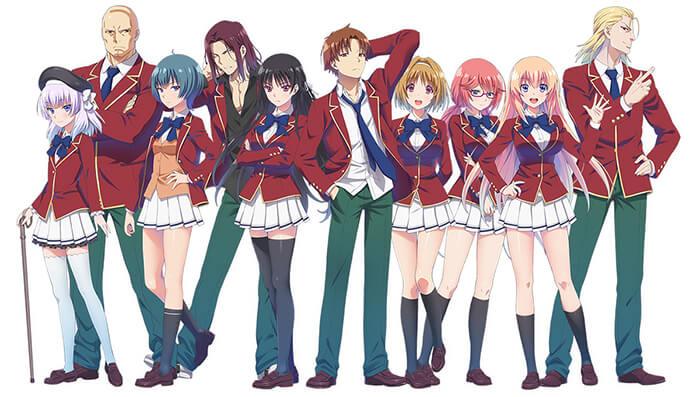 5 Anime yang Mirip Youkoso Jitsuryoku Shijou Shugi no Kyoushitsu e