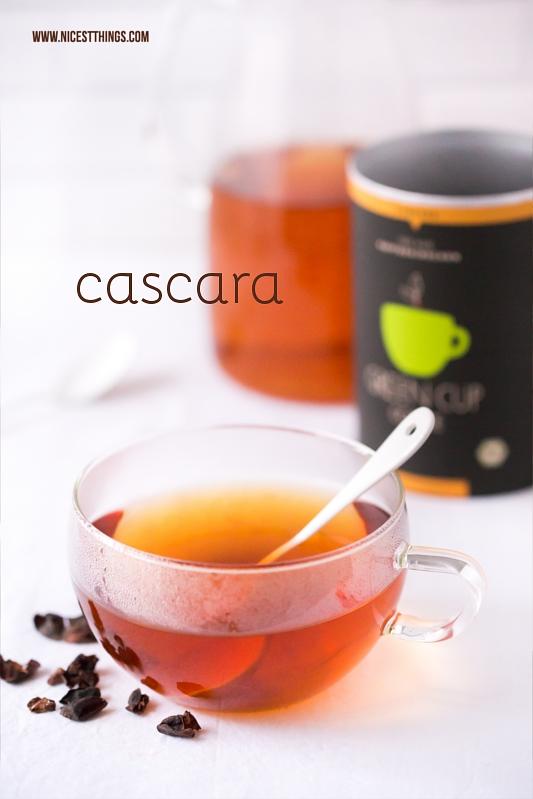 Cascara Kaffeekirschen Tee