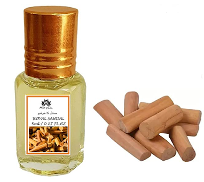 Mayin Attar Sandalwood Perfume for Men and Women Perfume for Daily Wear