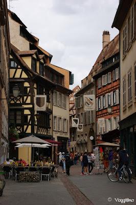 I vicoli caratteristici del centro storico di Strasburgo
