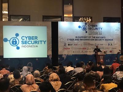 Aktifitas APTIKNAS selama Cyber Security Indonesia & Indonesia Fintech Show 6-8 Nov 2019