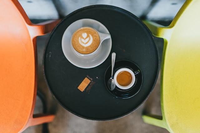 شرب القهوة على الريق