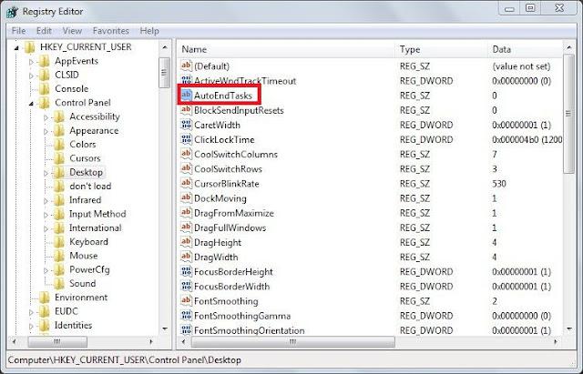 Cara Mematikan atau Menutup Program Not Responding Secara Otomatis di PC atau Laptop