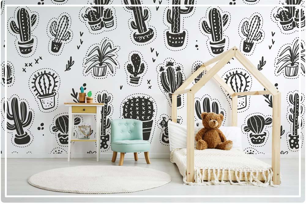 papier peint chambre bébé mixte
