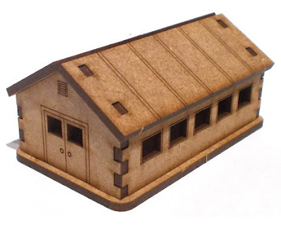 B10-MC-003 - Barracks Hut (x1)