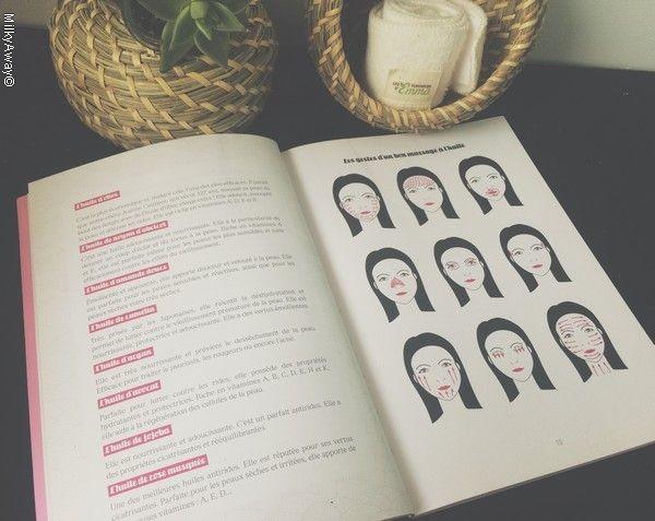 Livre Layering secret de beauté des japonaises, le démaquillage à l'huile