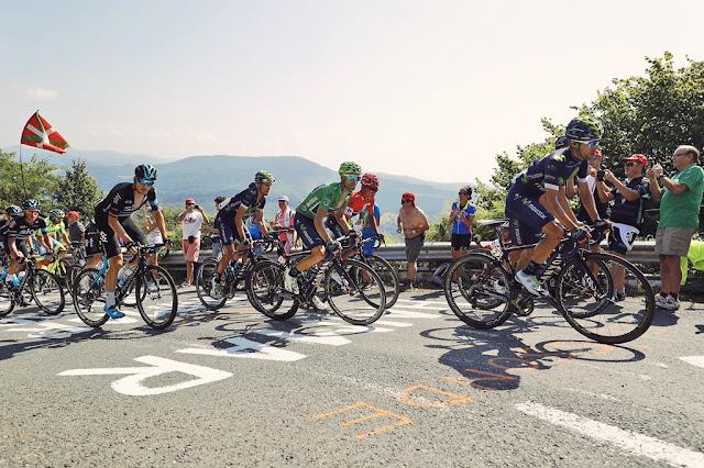El pelotón de la Vuelta disputa hoy la Marcha Cicloturista a España