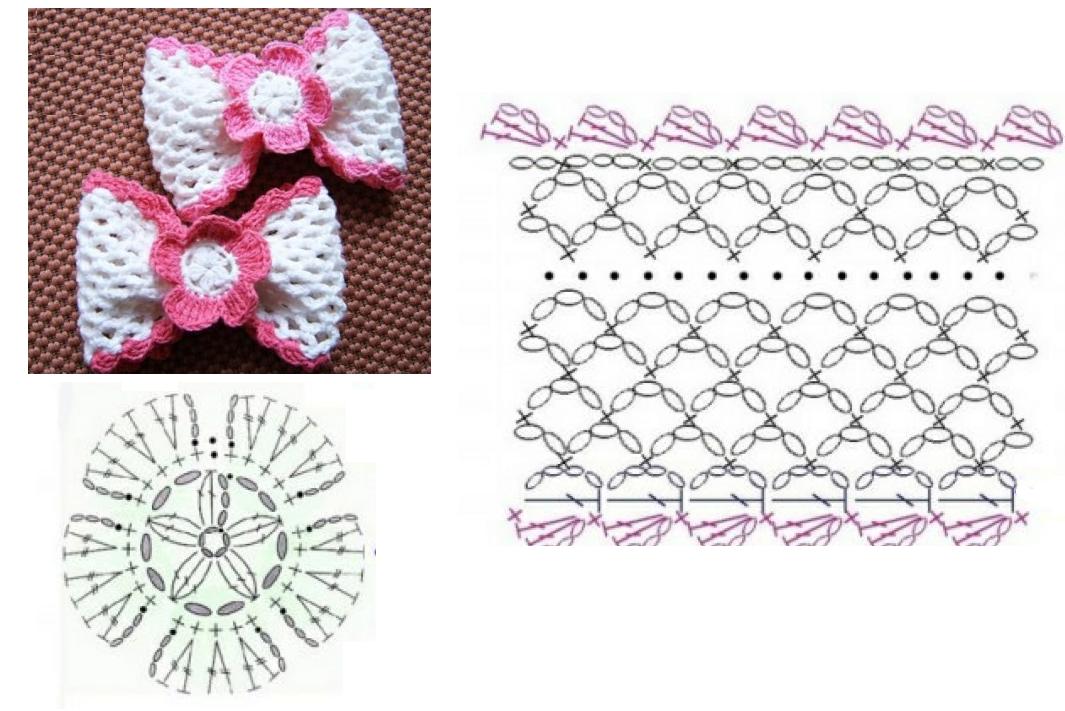 Como hacer un Lazo de Crochet Tutorial