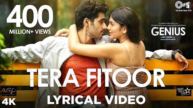 lyrics of tera fitoor - Arijit Singh