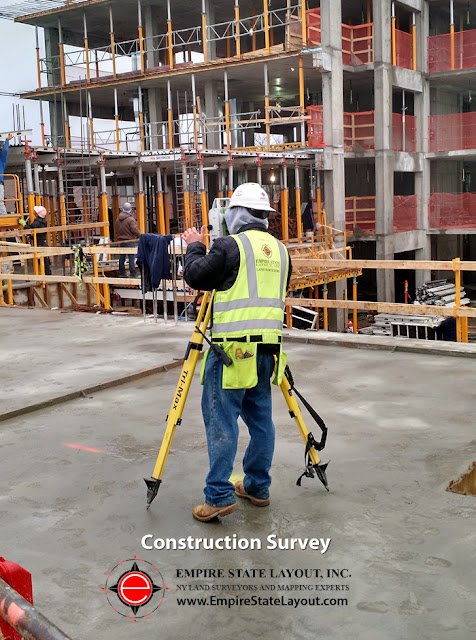 Empire State Layout NYC Construction Surveyors