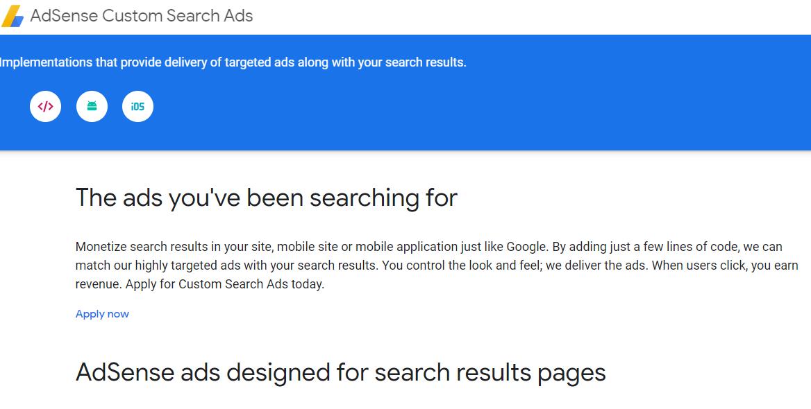 رفع سعر النقرة الى ازيد من $40 باستخدام إعلانات البحث المخصص في جوجل ادسنس