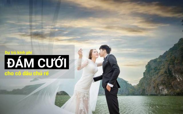Dự trù kinh phí đám cưới