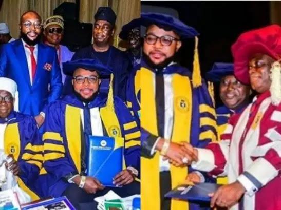 UNILAG denies issuing honorary doctorate degree to E-Money 'Emeka Okonkwo' stating that it was only given to Prof. James Dele Olowokudejo, Prof. Sulaiman A. Adekola, Alhaji Lateef Olufemi Okunnu, Dr. Daniel K. Olukoya, and Mr. Jim Ovia