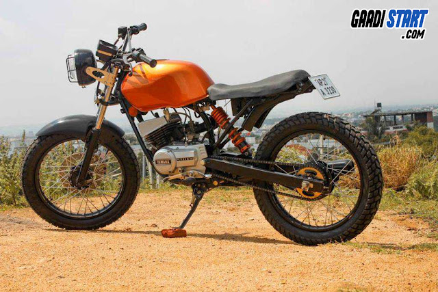 BEST MODIFICATION OF YAMAHA Rx135 AT LOW COST.