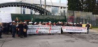 Συμβολικός αποκλεισμός Υπουργείων από τους εργαζόμενους στη σχολική καθαριότητα