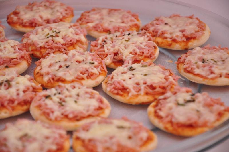 Mini Pizzas Cremosas