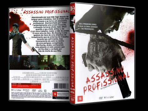 Capa DVD Assassino Profissional