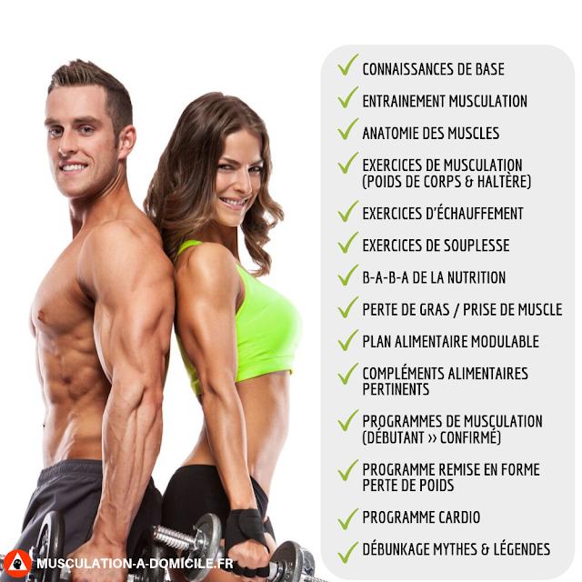musculation-a-domicile.fr_methode-poids-de-corps-haltere-couple-fitness contenu manuel musculation sommaire