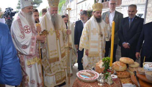 Прослава празника Светог Василија Острошког у острошкој светињи