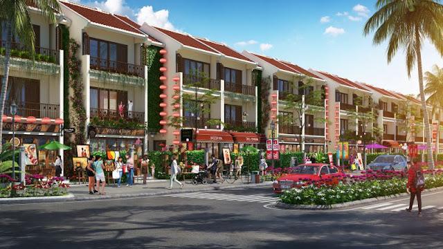 Khu dân cư được xây dựng bài bản với nhiều tiện ích làm thay đổi bộ mặt đô thị