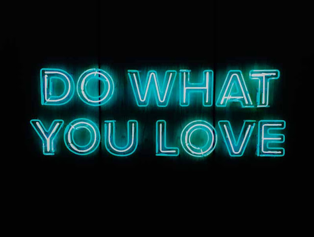 Do what you love; image for girls DP